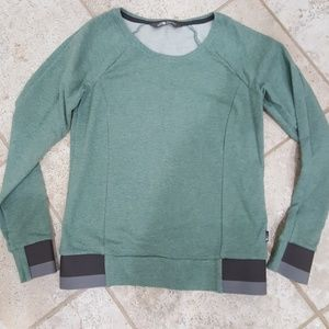 North face sweatshirt xs